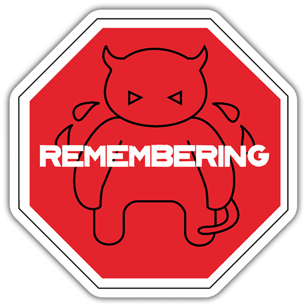 Car & Motorbike Stickers: Radiohead Remembering 0