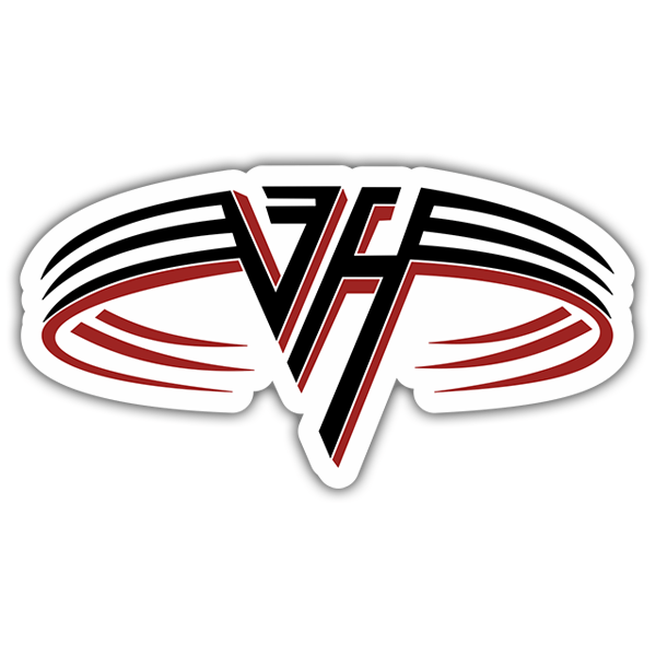 Car & Motorbike Stickers: Van Halen Logo