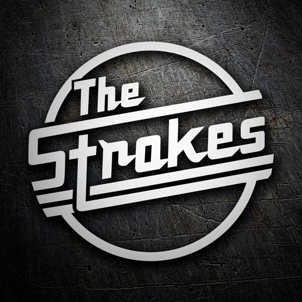 Car & Motorbike Stickers: The Strokes