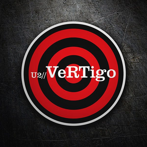 Car & Motorbike Stickers: U2 - Vertigo 1