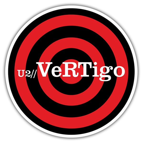Car & Motorbike Stickers: U2 - Vertigo