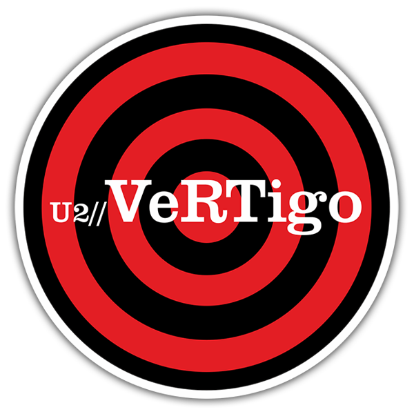 Car & Motorbike Stickers: U2 - Vertigo 0
