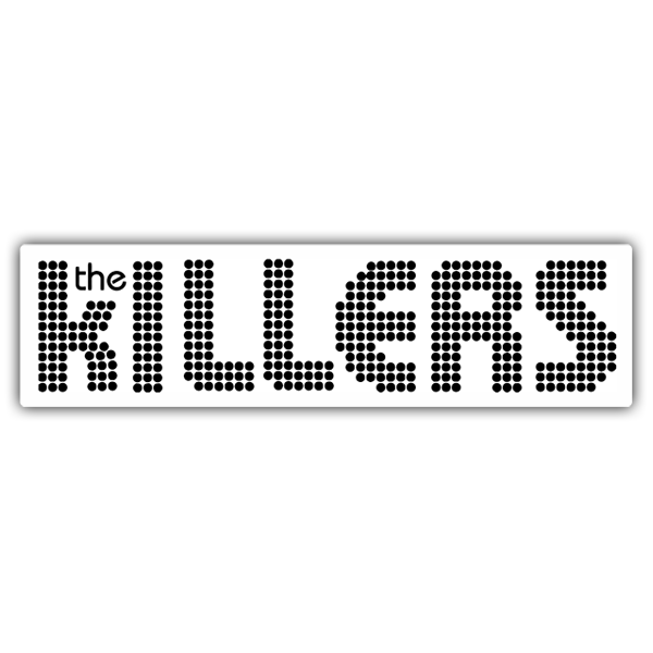Car & Motorbike Stickers: The Killers Logo
