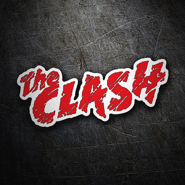 Car & Motorbike Stickers: The Clash