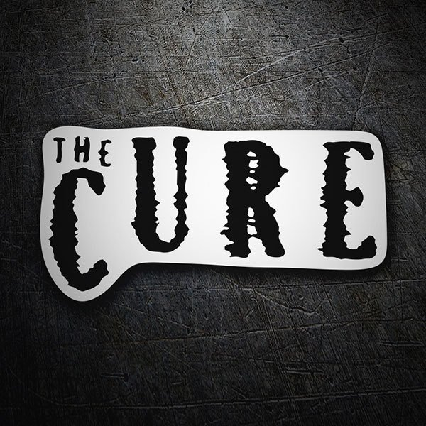 Car & Motorbike Stickers: The Cure