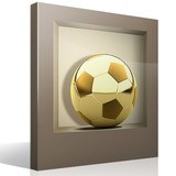 Wall Stickers: Golden Ball niche 4