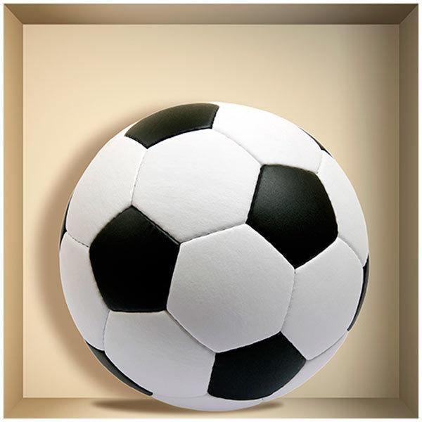 Wall Stickers: Football ball niche