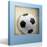 Wall Stickers: Football ball niche 4
