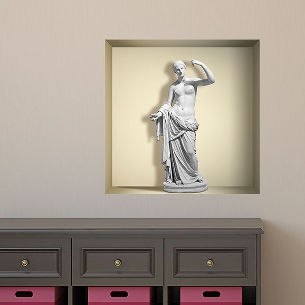 Wall Stickers: Statue of Venus niche