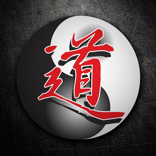 Car & Motorbike Stickers: Yin and Yang