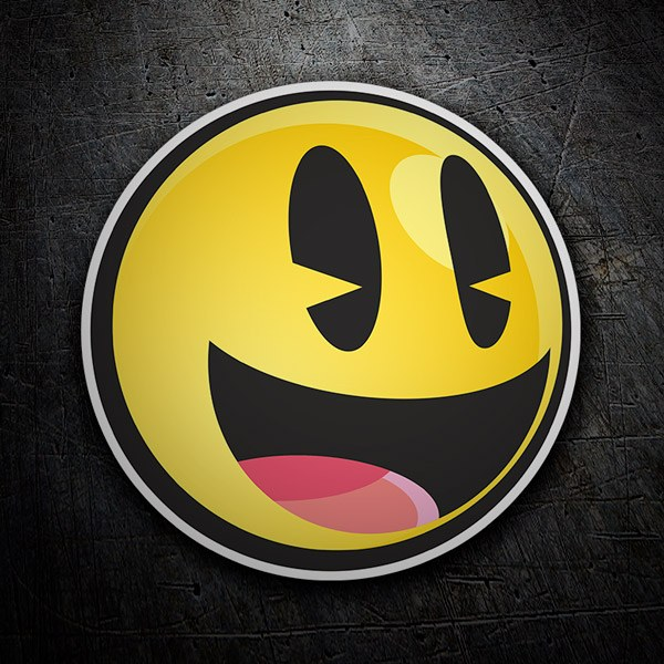 Car & Motorbike Stickers: Smile