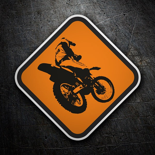 Car & Motorbike Stickers: Free style signal