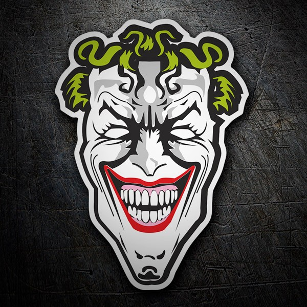 Car & Motorbike Stickers: The villain Joker