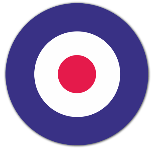 Car & Motorbike Stickers: British aircraft insignia