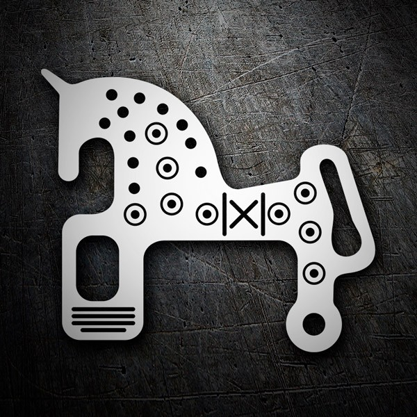 Car & Motorbike Stickers: Horse Soria