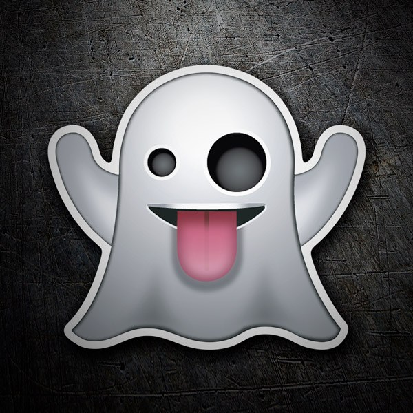 Car & Motorbike Stickers: Ghost