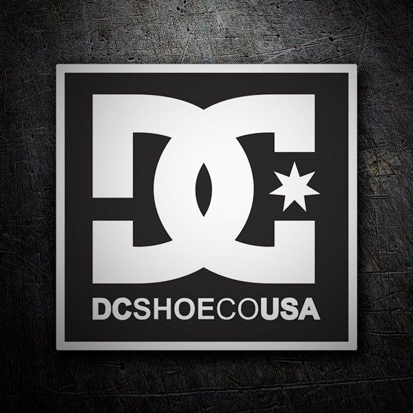 Car & Motorbike Stickers: DC Shoes USA 1