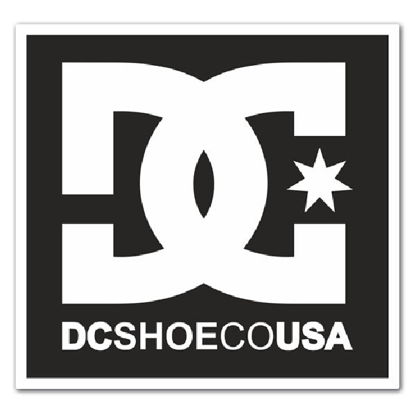 Car & Motorbike Stickers: DC Shoes USA