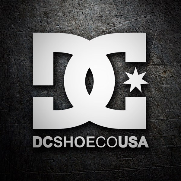Car & Motorbike Stickers: DC SHOE CO USA 2