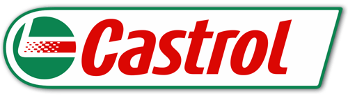 Car & Motorbike Stickers: Castrol logo