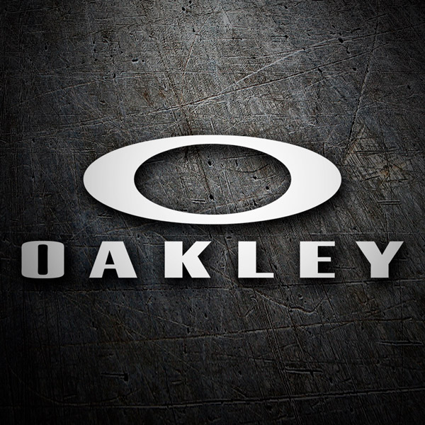 Car & Motorbike Stickers: Oakley 4