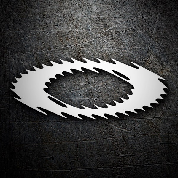 Car & Motorbike Stickers: Oakley logo