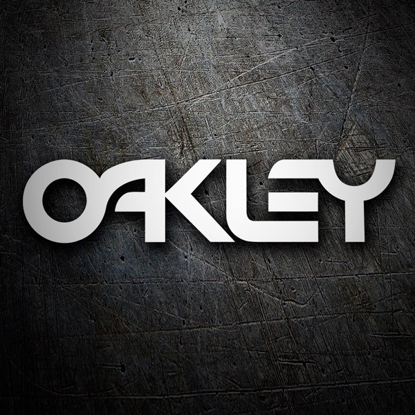 Car & Motorbike Stickers: Oakley retro