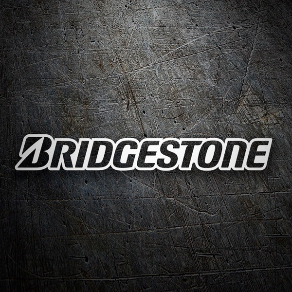 Car & Motorbike Stickers: Bridgestone