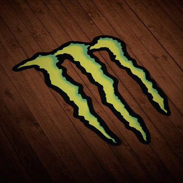 Car and Motorbike Stickers: Monster Energy Logo