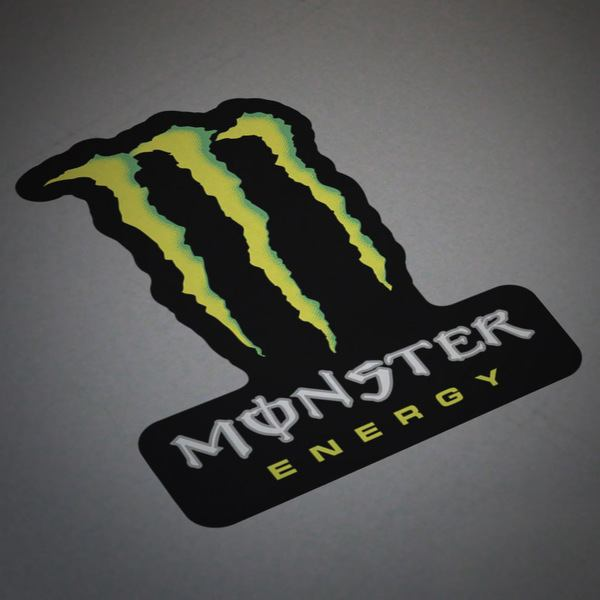 Car and Motorbike Stickers: Monster Energy 3