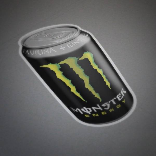 Car and Motorbike Stickers: Monster Energy can 2