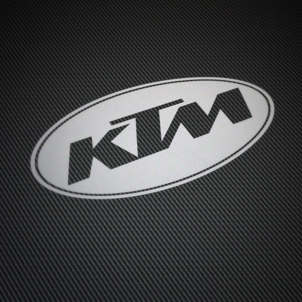 Car & Motorbike Stickers: KTM