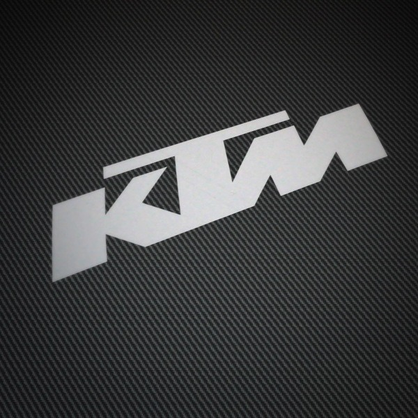 Car & Motorbike Stickers: KTM 2