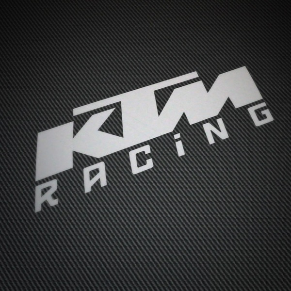 Car & Motorbike Stickers: KTM Racing