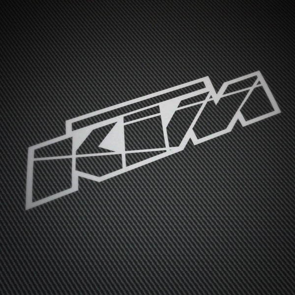 Car & Motorbike Stickers: KTM logo 2