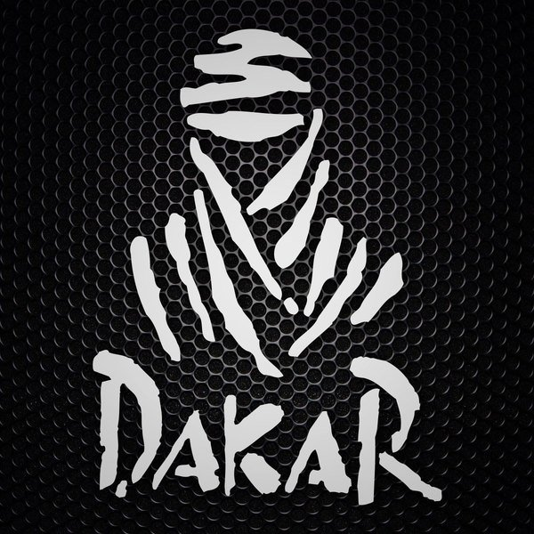 Car and Motorbike Stickers: Logo Dakar Rally