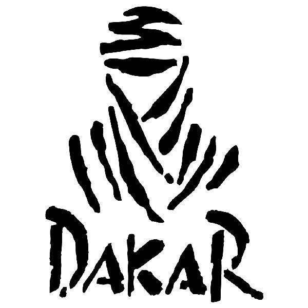 Car & Motorbike Stickers: Logo Dakar Rally