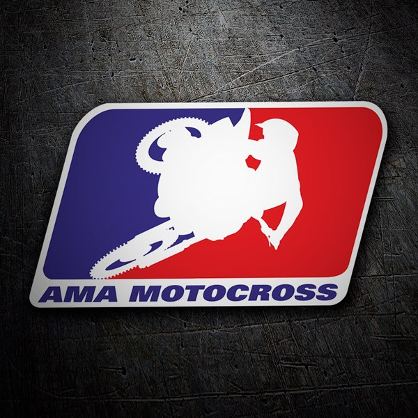 Car & Motorbike Stickers: Ama Motocross