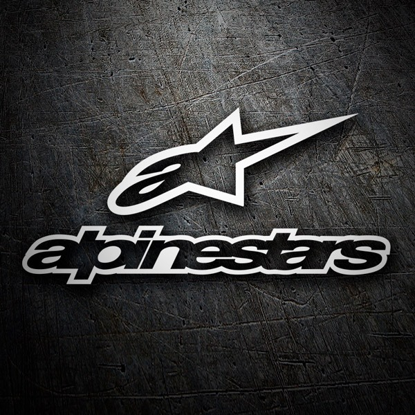 Car and Motorbike Stickers: Alpinestars 3