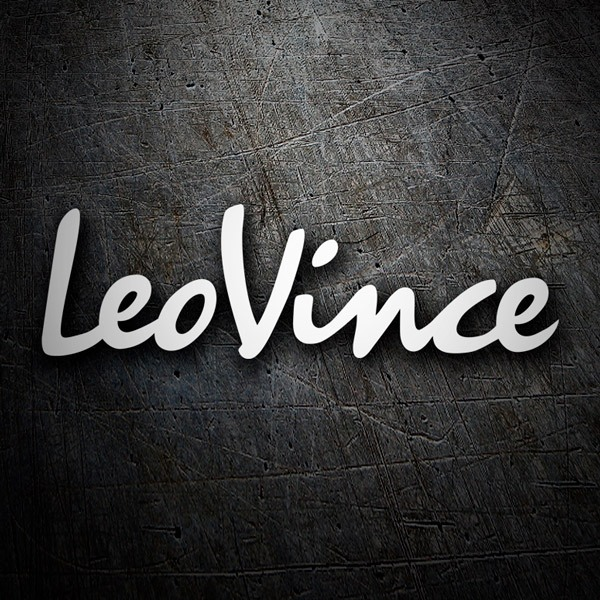Car & Motorbike Stickers: LeoVince