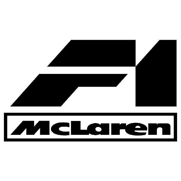 Car & Motorbike Stickers: F1 Mclaren
