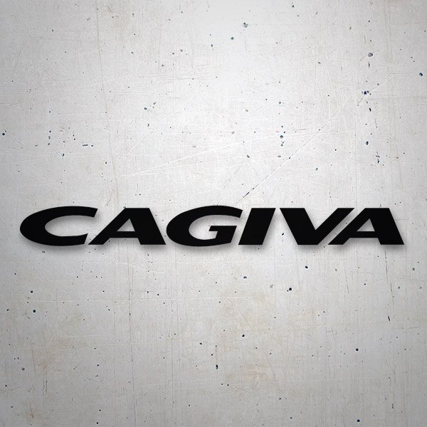 Car & Motorbike Stickers: Cagiva