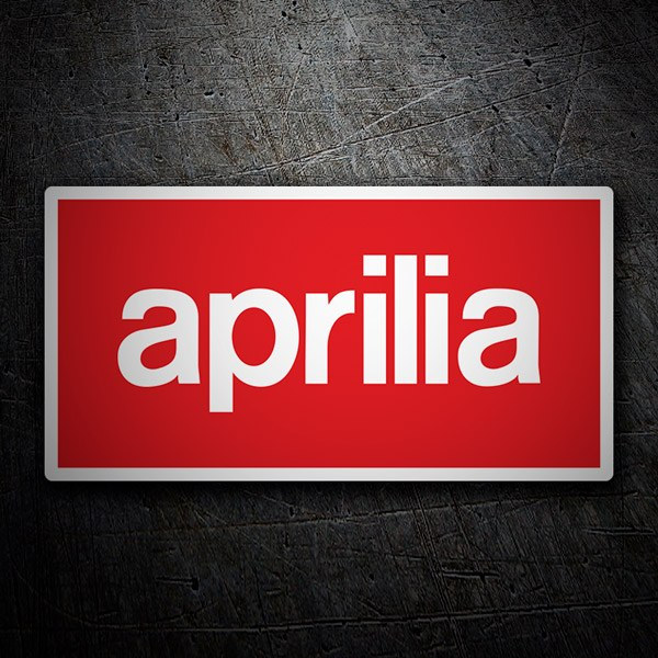 Car & Motorbike Stickers: Aprilia
