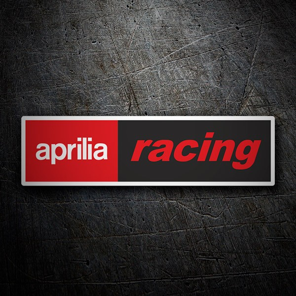 Car & Motorbike Stickers: Aprilia Racing