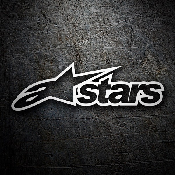 Car & Motorbike Stickers: Alpinestars 6