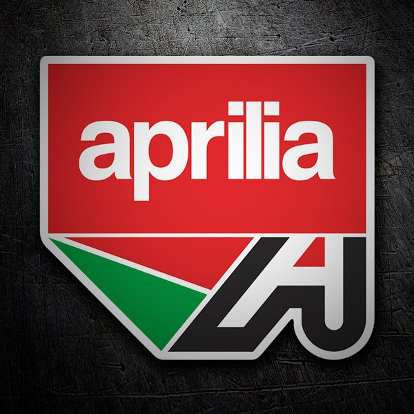 Car & Motorbike Stickers: Aprilia logo 2