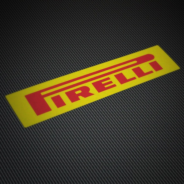 Car and Motorbike Stickers: Pirelli 4