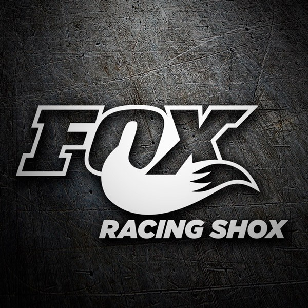 Car and Motorbike Stickers: Fox Racing Shox