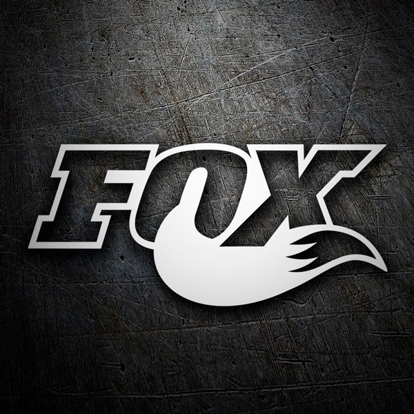 Car and Motorbike Stickers: Fox logo 3