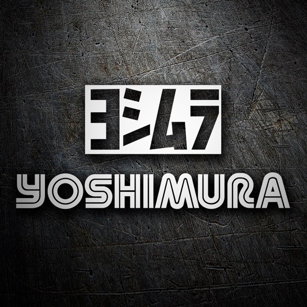 Car & Motorbike Stickers: Yoshimura 2